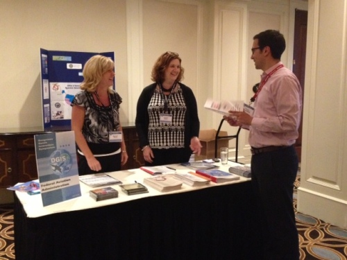 Labelmaster Staff Discuss Solutions with Attendees