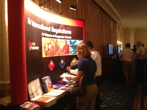 Attendees Learn about Labelmaster's Air International Regualtions Solutions